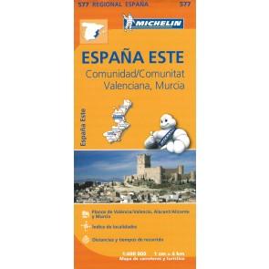 Comunidad, Valenciana, Murcia  - Espana Este