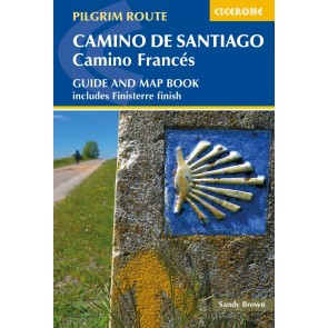 Camino de Santiago - Camino Francés - guide w/mapbook