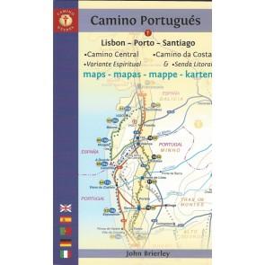 Camino Portugués (Lisbon - Porto - Santiago) Maps