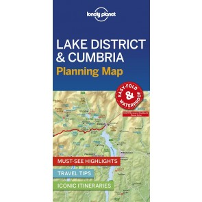 Lake District & Cumbria Planning Map