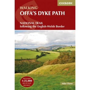 Walking Offa's Dyke Path - National Trail following the Engl