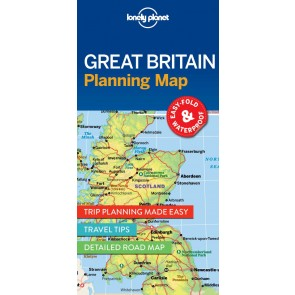 Great Britan Planning Map
