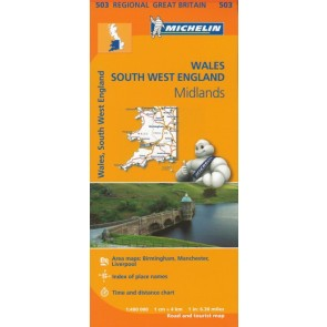 Wales, The Midlands, South West England