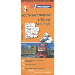 South East England, The Midlands, East Anglia