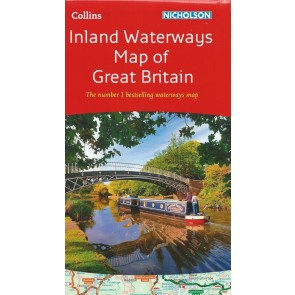 Inland Waterways Map of Great Britain