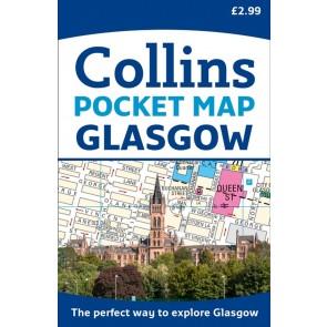 Colins Pocket Map Glasgow