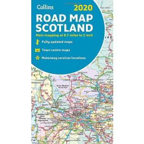 Collins Road Map Scotland 2020
