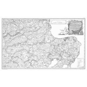 Jylland Øst (nord delen) Videnskabernes Selskabs kort