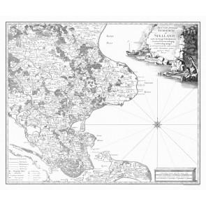Sjælland Sydøst - Videnskabernes Selskabs kort