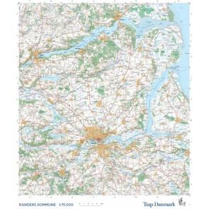 Trap Danmark: Kort over Randers Kommune
