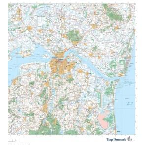 Trap Danmark: Kort over Aalborg Kommune