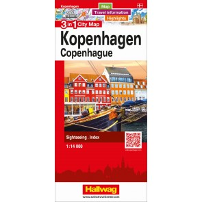 Copenhagen 3 in 1 City Map