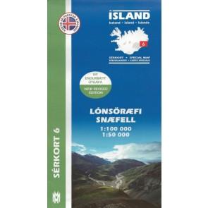 Lónsöræfi, Snæfell - Serkor