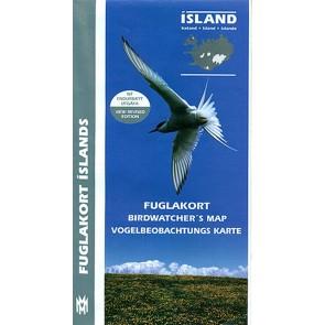 Iceland Birdwatchers' Map