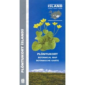 Iceland Botanical Map