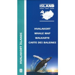 Iceland Whale Map