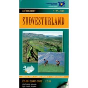 Sudvesturland (Activity map)