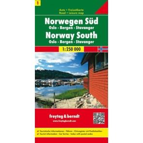 Norway South (Oslo -Bergen-Stavanger)