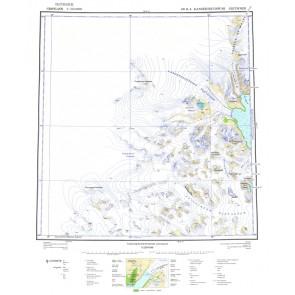Kangerdlugssuaq Gletscher 68 Ø4 KMS