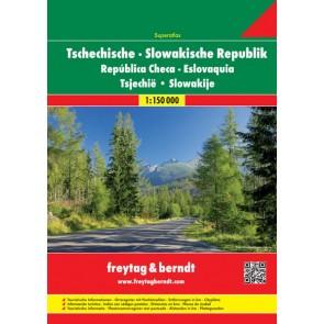 Tschehische -  Slowakische Republic Superatlas