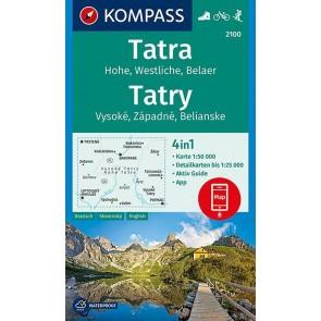 Hohe Tatra/Vysoké, Západné