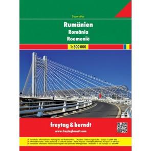Romania Road Atlas