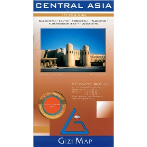 Central Asia - Geographical