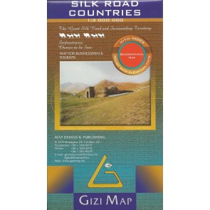 Silk Road Countries Geographical
