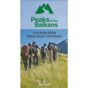 Cross border hiking Albania - Kosov - Montenegro:  Peaks of