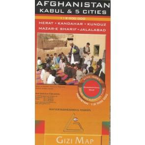 Afghanistan , Kabul & 5 cities