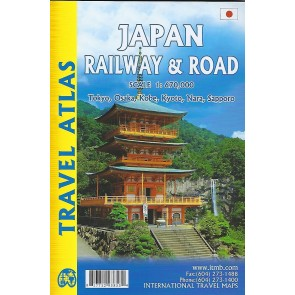 Travel Atlas Japan Railway & Road