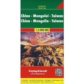 China - Mongolia - Taiwan