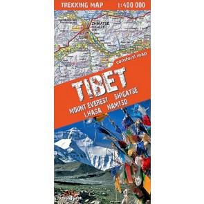 Tibet (Mount Everest, Nam Tso, Lhasa, Shigatse)