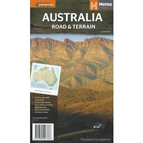 Australia Road & Terrain