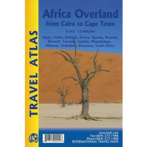 Travel Atlas Africa Overland: Cairo to Cape Town