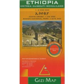 Ethiopia - Eritrea - Djibouti - Somaliland