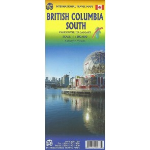 British Columbia South - Calgary to Vancouver