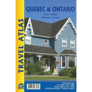 Travel Atlas Quebec & Ontario