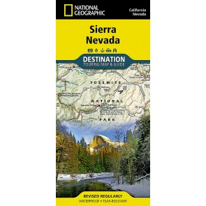 Sierra Nevada - Touring Map & Guide