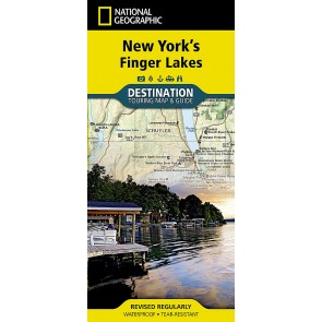 New York's Finger Lakes - Touring Map & Guide