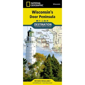 Wisconsin's Door Peninsula - Toruing Map & Guide
