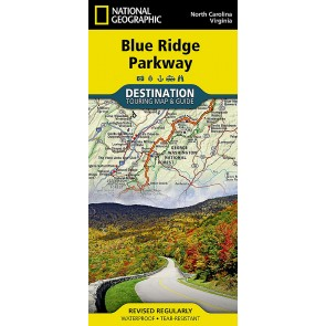 Blue Ridge Parkway - Touring Map & Guide