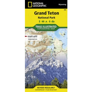 Grand Teton National Park - Trails Illustrated
