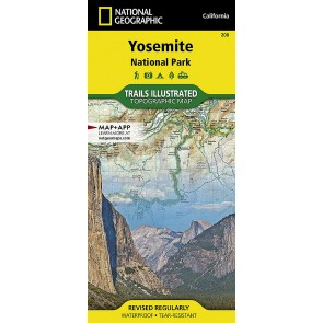 Yosemite National Park - Trails Illustrated