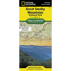 Great Smokey Mountains National Park - Trails Illustrated