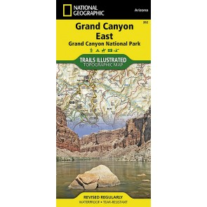 Grand Canyon North and South Rims - Trails Illustrated