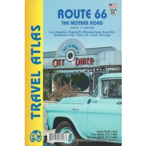 Travel Atlas Route 66 - The Mother Road