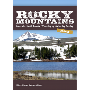 Rocky Mountains - Colorado, South Dakota, Wyoming og Utah