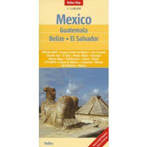 Mexico - Guatemala - Belize - El Salvador