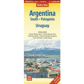Argentina South - Patagonia - Uruguay